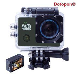 CAMÉRA SPORT Dotopon®(bleu)SJ6000 WiFi Sport Action caméra Full