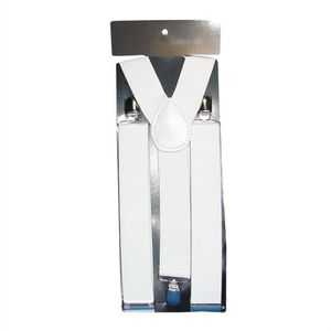 BRETELLES Hommes Femmes clipser Bretelles élastiques Y-forme