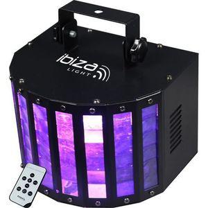 LAMPE ET SPOT DE SCÈNE IBIZA LIGHT BUTTERFLY-RC Effet Butterfly à 6 LED c