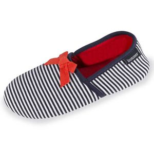 CHAUSSON - PANTOUFLE Chaussons charentaises femme rayures