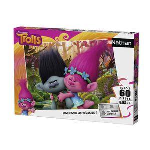 PUZZLE TROLLS Puzzle Poppy & Branche 60 pcs