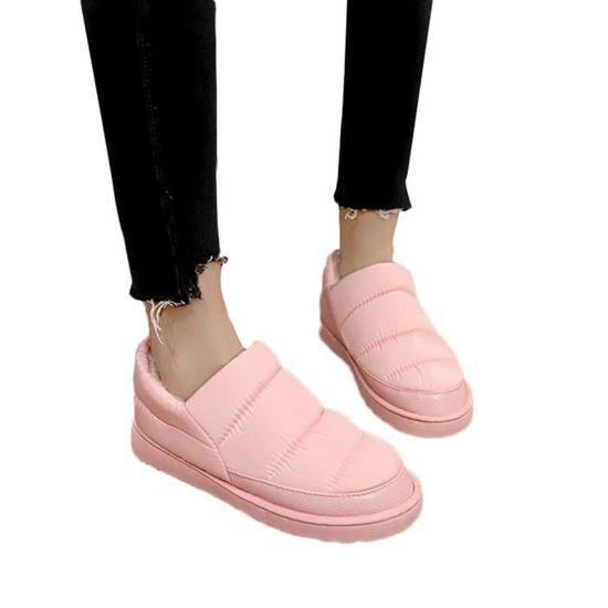 Imperméable Pain Loisirs Chaussures Chaud De Bottes Neige Gardez Femmes Bare Frandmuke4807 D'hiver Plates 8IqpTTx