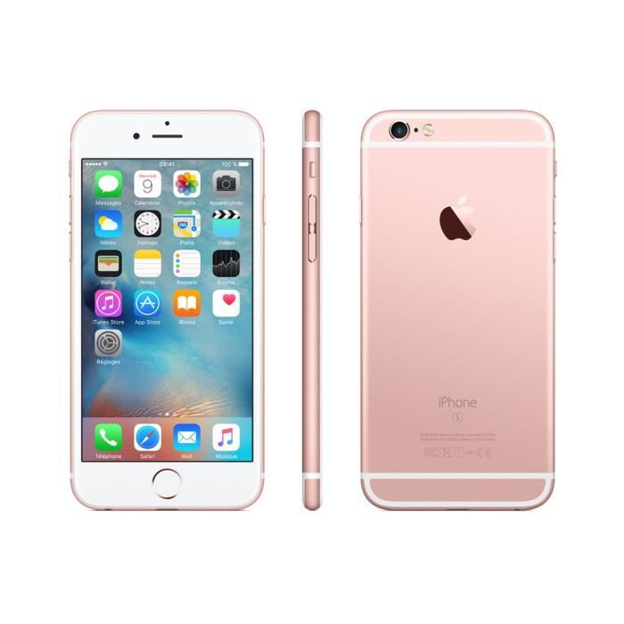 SMARTPHONE APPLE iPhone 6S  rose gold 16Go