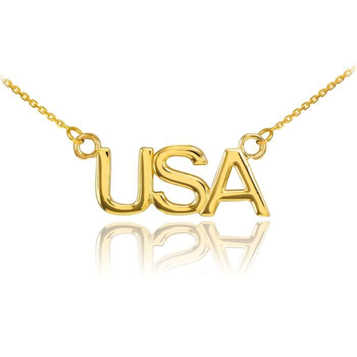 Pendentif 14 ct Or 585/1000USA