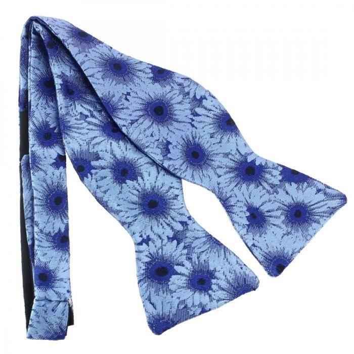 bfec9af407858 Noeud Papillon Robert Charles Gerbera Bleu Bleu - Achat / Vente ...