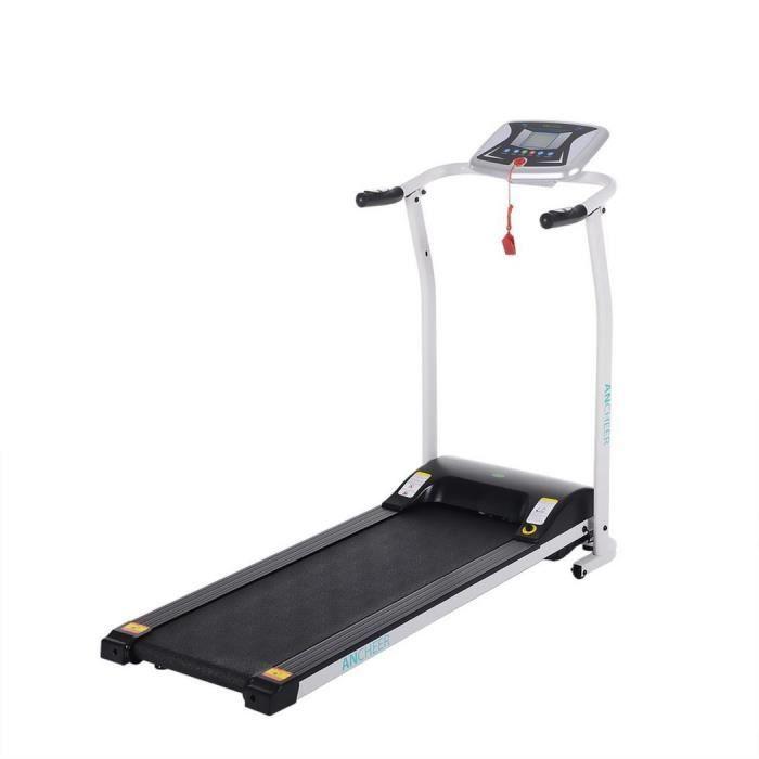 Mini Tapis De Course Electrique Fitness Treadmill Blanc Eu Standard