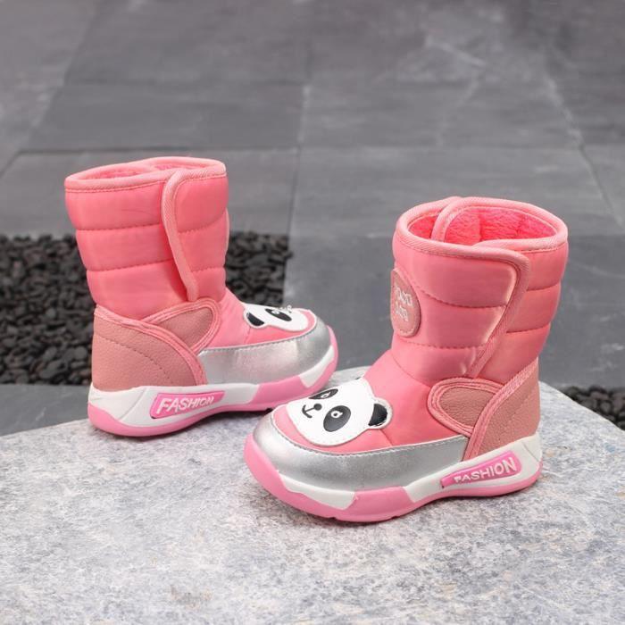 bottes à l'eau neige 2018 hautes modèle nouveau dessin animé de pour imperméable modèle enfants bottes hiver Bottes de qvPaTxz