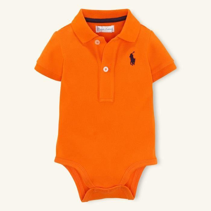Body Vente Orange Bébé Lauren Polo Achat Ralph 9 6 Mois Aj5R4L