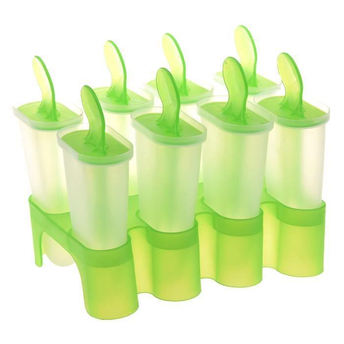 MOULE  8 Pieces Moule a Popsicle du bricolage Moule de cr