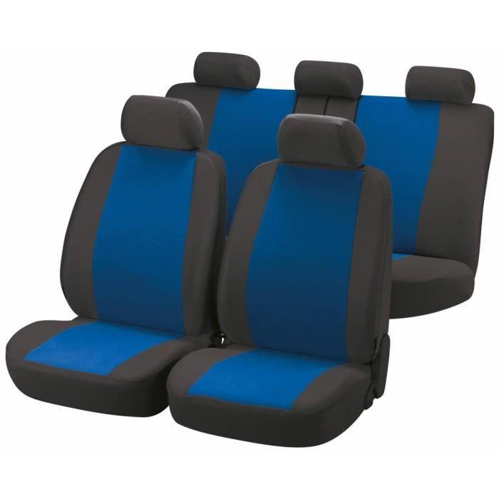 housse siege voiture bleu achat vente pas cher. Black Bedroom Furniture Sets. Home Design Ideas