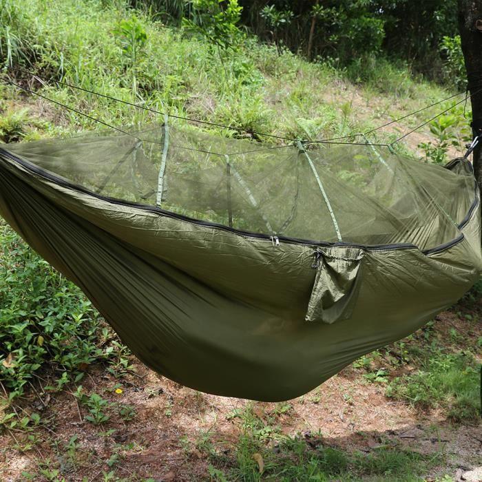 hamac de camping pr 2 personnes tente avec moustiquaire. Black Bedroom Furniture Sets. Home Design Ideas