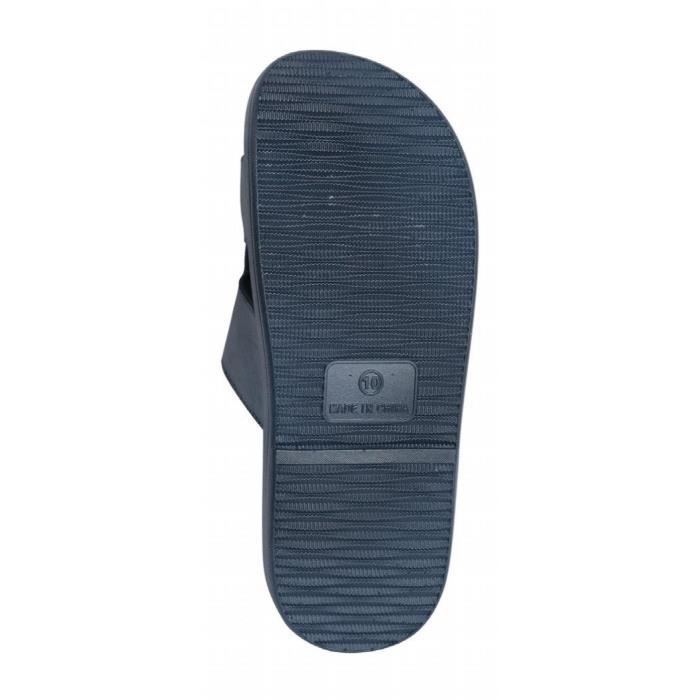 Hommes Beach Slide « sophistiqués » Sandales AK2YB Taille-40 1-2 8DBLKRdO