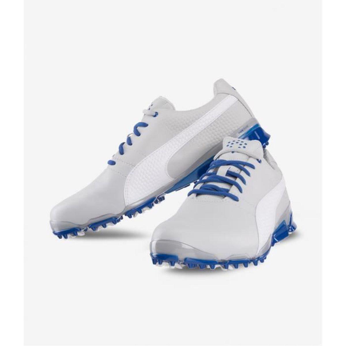Chaussures de golf Puma TITANTOUR IGNITE Light Grey