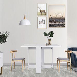 TABLE À MANGER SEULE LUXS Table Extensible Cuisine Table à Manger de 4