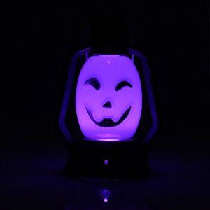 POT LUMINEUX Lanterne à lumière portable Hot Halloween Lampe LE