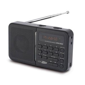 RADIO CD CASSETTE CALIBER HPG 312R Radio FM portable noir - USB / SD
