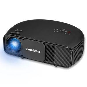 Vidéoprojecteur Projecteur Excelvan CL760 nouvellement demi-cercle