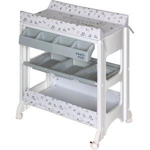 TABLE À LANGER ib style® Table à langer avec baignoire METRIC GIR