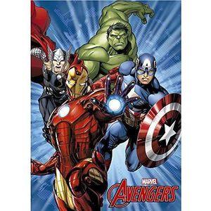 COUVERTURE - PLAID Couverture polaire enfants Avengers héros MARVEL H