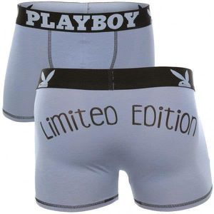 BOXER - SHORTY PLAYBOY Boxer Homme Coton MESSAGE Limited Edition