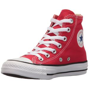 BASKET CONVERSE chuck taylor all star rouge chaussures en
