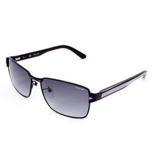 LUNETTES DE SOLEIL Lunettes de soleil Police S8850 Noir demi mat -… 2977141a9f7c