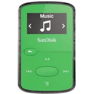 LECTEUR MP3 SANDISK CLIP JAM Lecteur MP3 8Go vert
