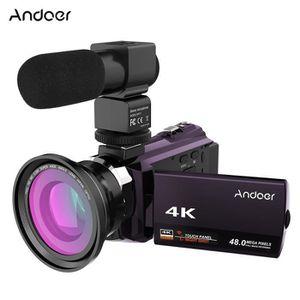 CAMÉSCOPE NUMÉRIQUE 4K 1080 P 48MP WiFi Caméra Vidéo Numérique Camésco