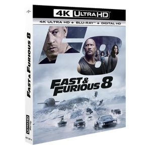 BLU-RAY FILM Fast & Furious 8 4K Ultra HD