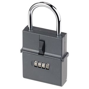 COFFRE FORT Coffre à clés format cadenas avec code à 4 chiffre