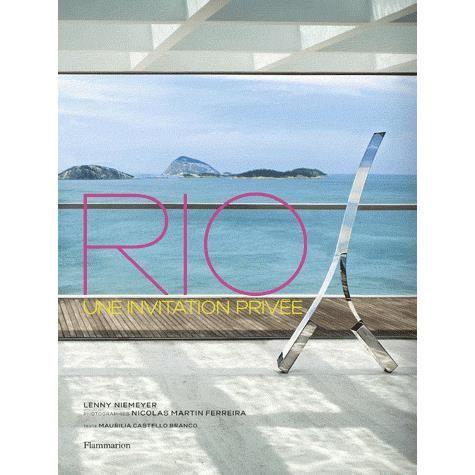 LIVRE ARTS DÉCORATIFS Rio, une invitation privée
