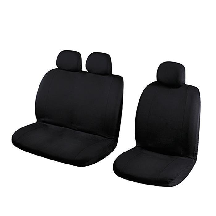 TURBOCAR Housse pour sièges avant - 100% polyester - 7 pièces