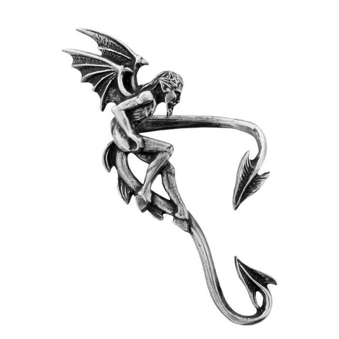 Alchemy Boucles doreilles Devils Den or