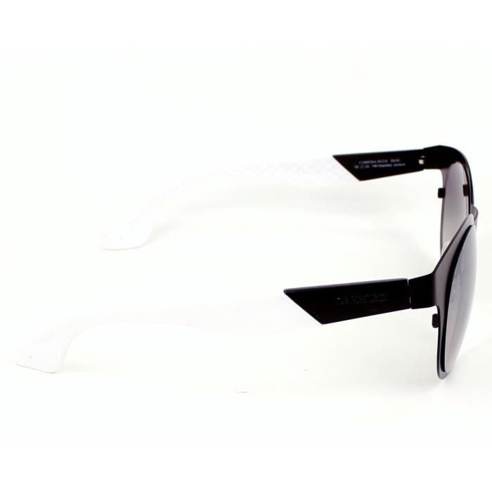 Lunettes de soleil Carrera 5012-S -5XJIC Noir mat - Blanc Noir ... a6a40a778341