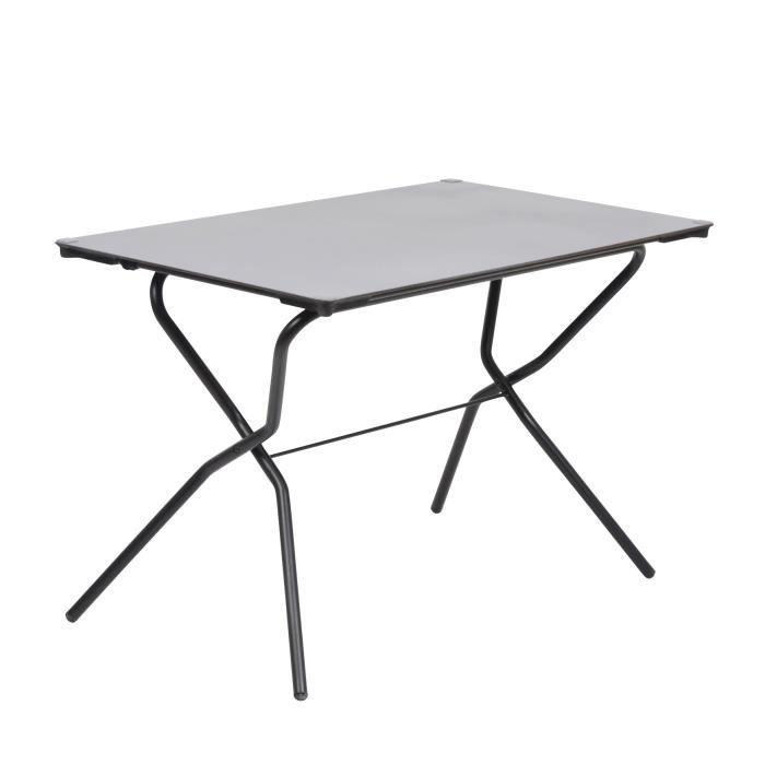 Table rectangulaire pliante 68x110cm en acier pour 4 6 for Table pliante 4 personnes