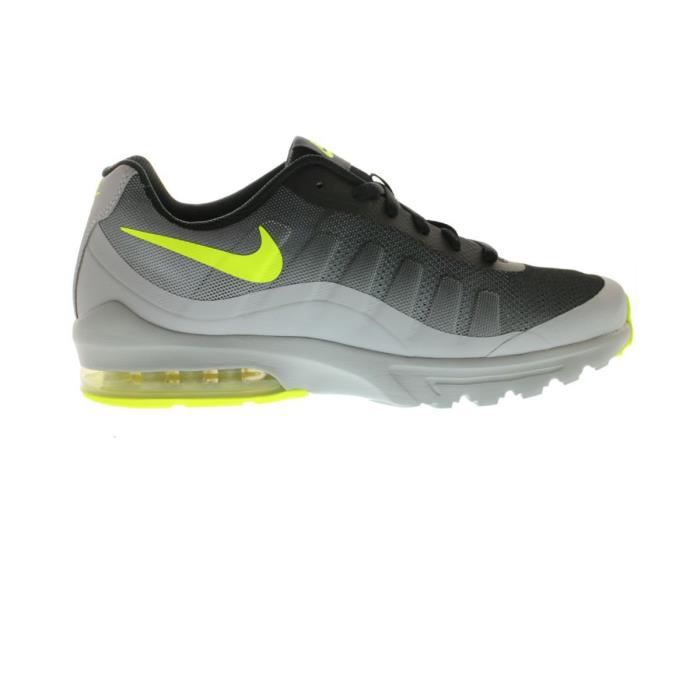 new arrival cfd10 50284 Chaussures Basket Air Max Invigor Jr Grey Volt - Nike