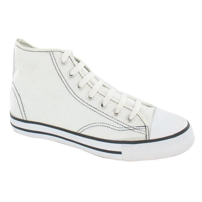 Spot On - Chaussures hautes en toile - Homme neBfzU