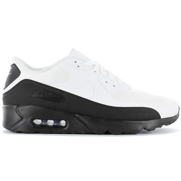 the best attitude c0adb a1d67 Nike Air Max 90 Ultra 2.0 Essential 875695-015 Noir Chaussures Homme  Sneaker Baskets Pointure  EU 42 US 8.5