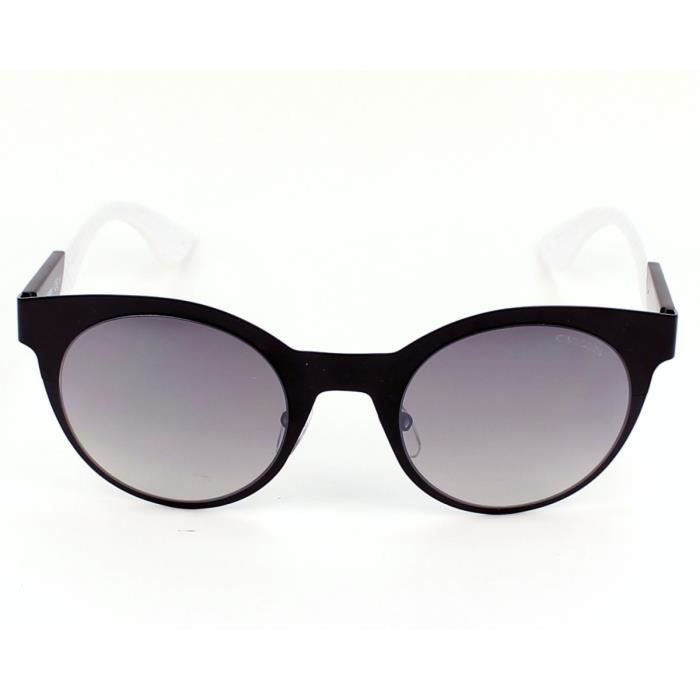 Lunettes de soleil Carrera 5012-S -5XJIC Noir mat - Blanc