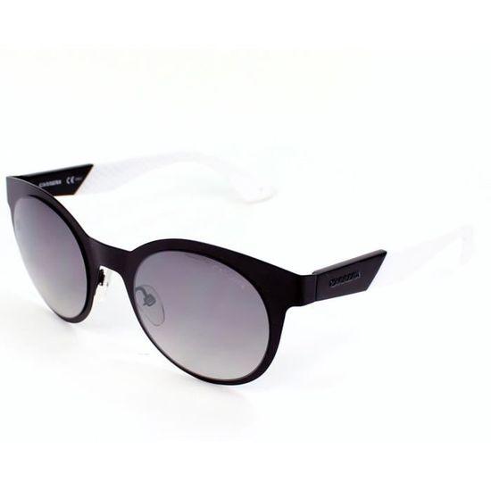 Lunettes de soleil Carrera 5012-S -5XJIC Noir mat - Blanc Noir, Blanc -  Achat   Vente lunettes de soleil Femme - Cdiscount 629041734e6c