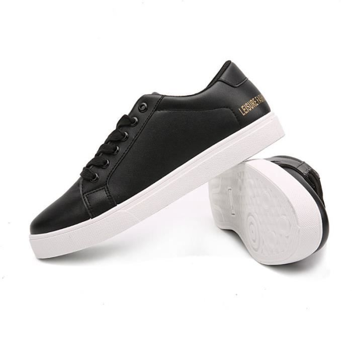 JOZSI Chaussures LKG Homme XZ210Blanc38 de Confortable ville Homme chaussure mode Cuir wUUqadr