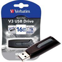 DISQUE DUR EXTERNE CLE USB VERBATIM 64GO 3.0 V3