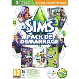 JEU PC Les Sims 3 Pack de Démarrage Jeu PC