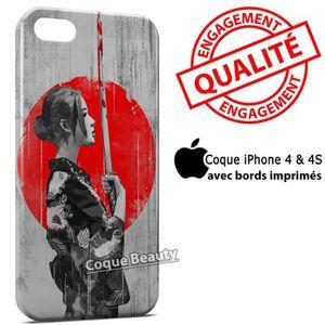 COQUE - BUMPER Coque iPhone 4 & 4S Samurai