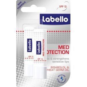 BAUME SOIN DES LÈVRES LABELLO Protect - Stick lèvres - 4,8 g - Lot de 2