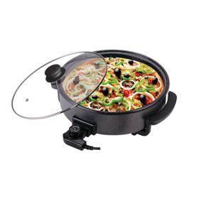 FOUR À PIZZA Four Pizza Tarte Marbre AntiAdhésif 5 Températures