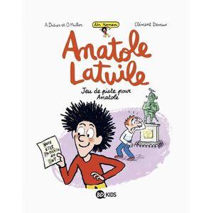 Livre 6-9 ANS Un roman Anatole Latuile Tome 3 : Jeu de piste pou