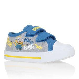 BASKET MINIONS Baskets Chaussures Bébé et Enfant Garçon