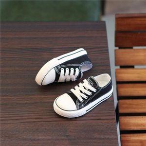 BASKET Enfants chaussures de toile blanc chaussures garço