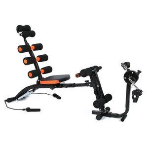 BANC DE MUSCULATION Appareil abdominal de fitness avec rameur élastiqu 920d219e815